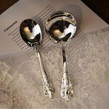 Cutlery Set Luxury Silver Dinnerspoons