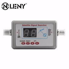 Onleny Digital LCD Satellite Finder Meter FTA DIRECTV Signal Pointer Satellite TV Receiver Tool for SatLink Sat Dish