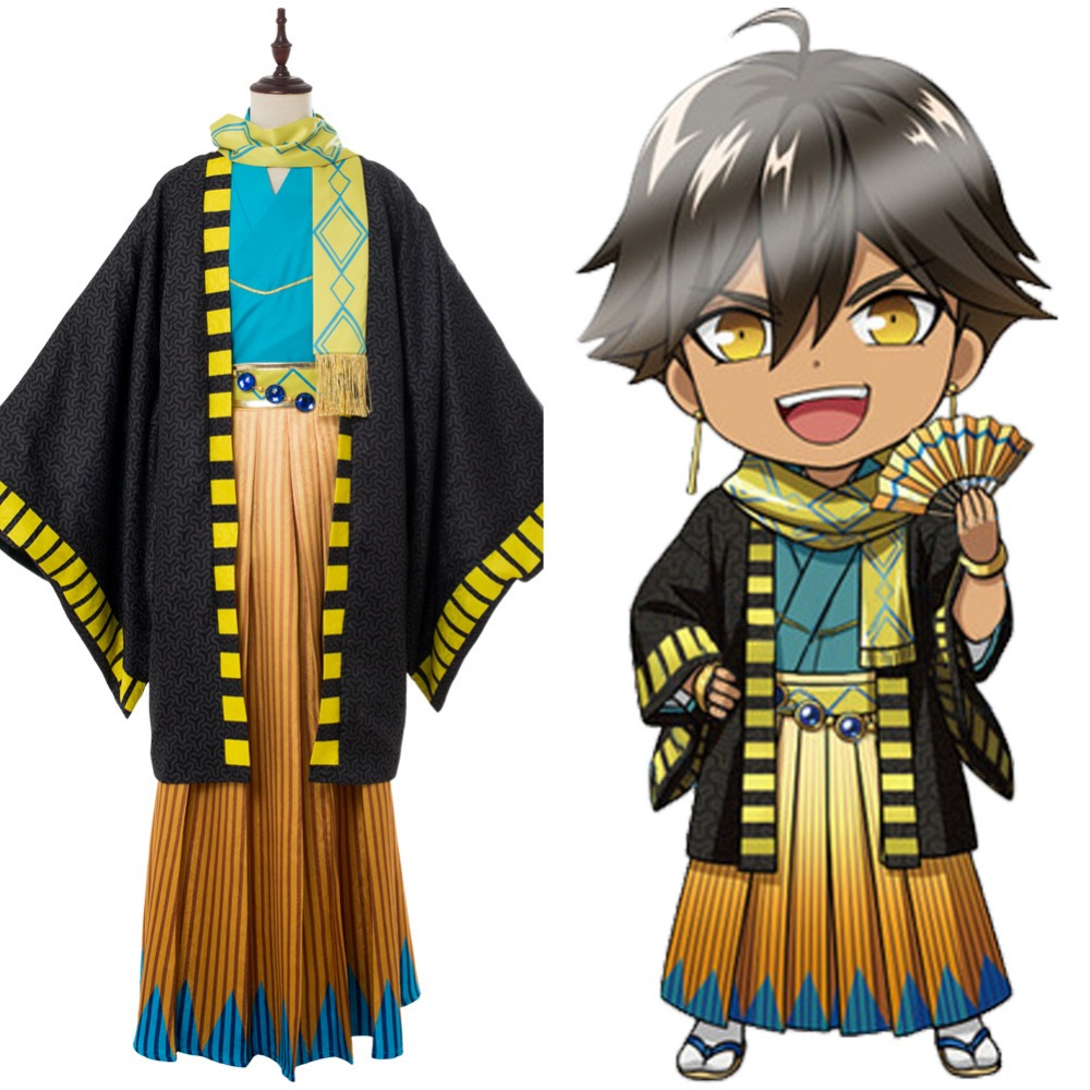 FGO Fate/Grand Order Ozymandias Ramesses Cosplay Costume Kimono