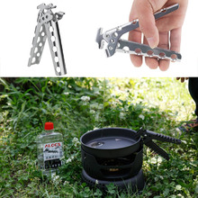 Outdoor Camping Pot Pan Gripper Anti-hot Pot Pan Gripper Bowl Gripper Handle Picnic Home Cookware Tools