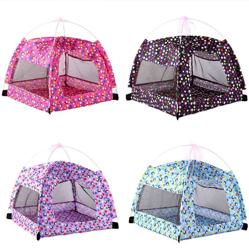 Portable Foldable Pet Tent Outdoor Indoor Dog Cat Tent