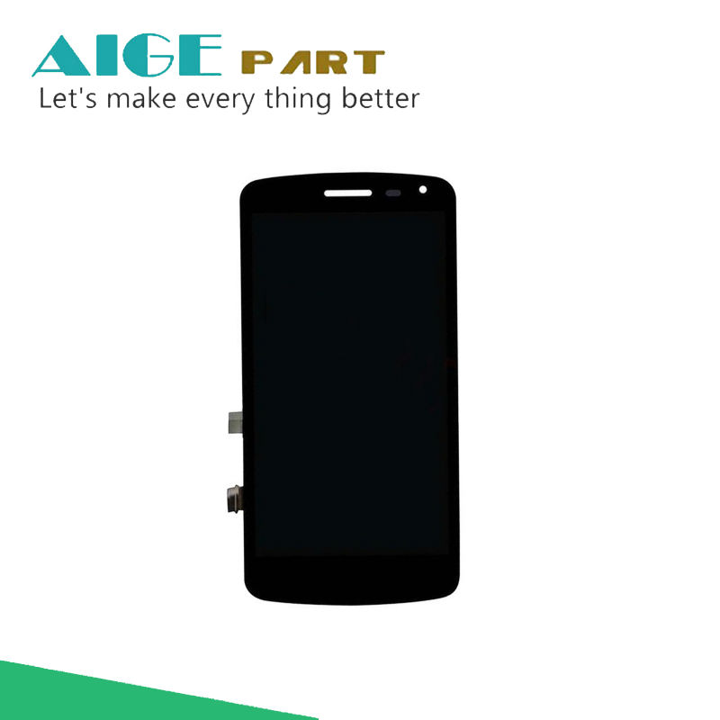 Black 100% New Full LCD DIsplay + Touch Screen Digitizer Assembly For LG K Series K5 X220 X220MB X220DS Free Shipping + Tracking black white lcd for lg k5 x220 x220mb