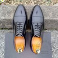 Gentleman Polish Customized Dress Shoes Soft Leather Plain Cowhide Four Seasons Solid Mens Oxfords  Mens Shoes  Date Interview