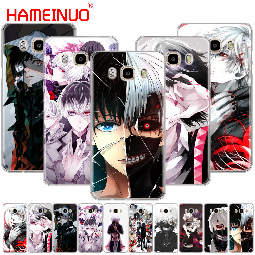 HAMEINUO Tokyo Ghoul font b anime b font Kaneki Ken cover phone case for Samsung Galaxy