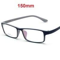 75a12ec3ad Vazrobe 150mm gran tamaño gafas hombres mujeres cara ancha prescripción  miopía dioptría 1,56 1
