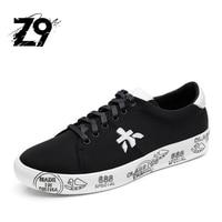 Nuovo Z9 appartamenti casual scarpe da uomo nero scarpa da tennis di marca design nizza qualità scarpe super fashion uomo confortevole per tutta la stagione