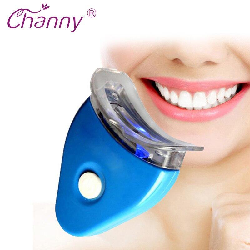 ᐂconjunto De Equipamentos De Luz De Clareamento Dental Gel Branco