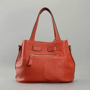 Image 5 - Zency 100% miękkie prawdziwej skóry eleganckie kobiety torba na ramię urok pomarańczowy moda Messenger Crossbody torebka z torebka na zamek