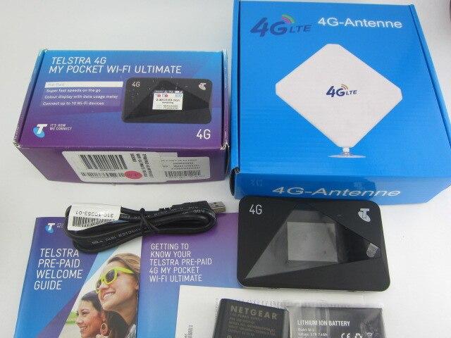 Netgear AirCard 785 S LTE Hotspot Mobile 4G FDD 700/900/1800/2100/2600 MHz routeur plus antenne