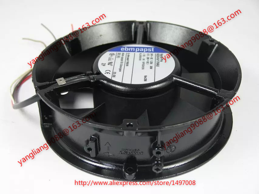 Free Shipping For ebmpapst 6224 N/17HAU 6224N/17HAU DC 24V 1.25A 4-wire 110mm 172x172x51mm Server Cooling Round fan free shipping 24v dc mig welding wire feeder motor single drive 1pcs