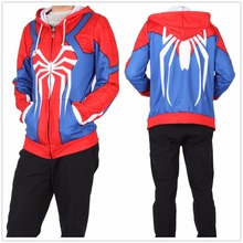 Adult Kids Insomniac Games Superhero Hoodie Spiderman Cosplay Sweatshirt Spider man