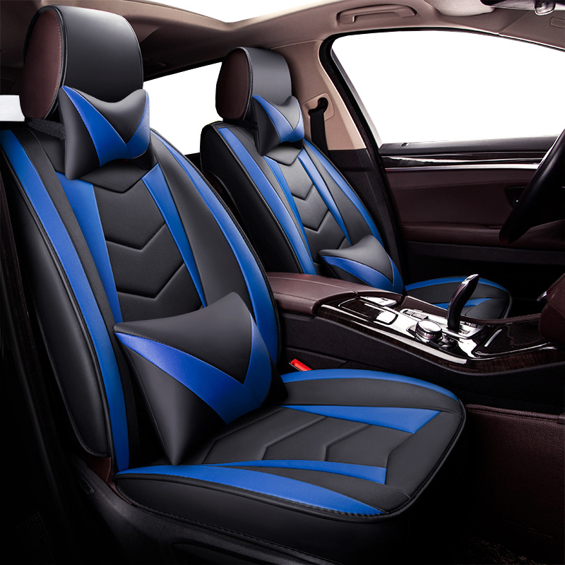 New Universal PU Leather car seat covers For Skoda Octavia Rapid octavia a5 Fabia superb octavia a7 kodiaq yeti Subaru Forester санки khw grazy bob синий 28002 28000