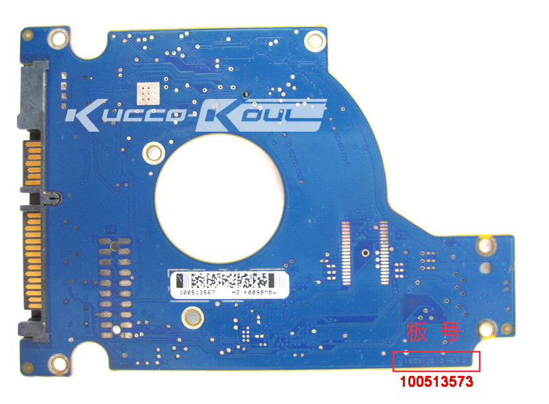 hard drive parts PCB logic board printed circuit board 100513573 for Seagate 2.5 SATA hdd data recovery hard drive repair