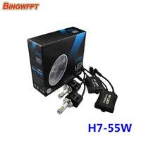 2PCS Car Styling P6 H7 LED Canbus 110W 10400Lm LED Car Bulb Auto Lamp Headlight Fog