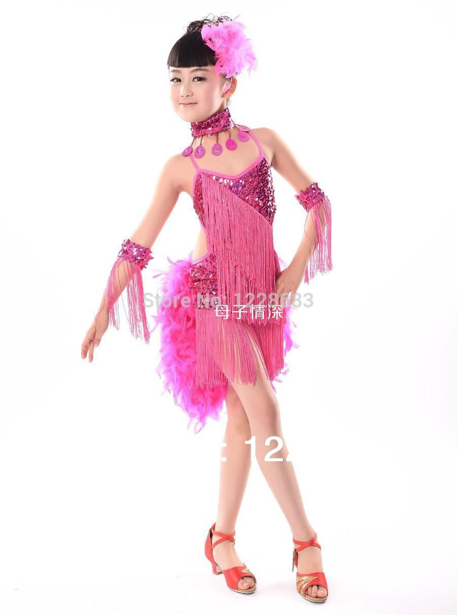 New Arrival Children Kids Girls Red Hot Pink Black Blue -5985