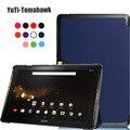 Магнитные смарт Флип PU кожаный чехол чехол для 2016 Acer Iconia tab 10 A3-A40 tablet Acer a3-a40 фолио стенд случае покрытия + стилус