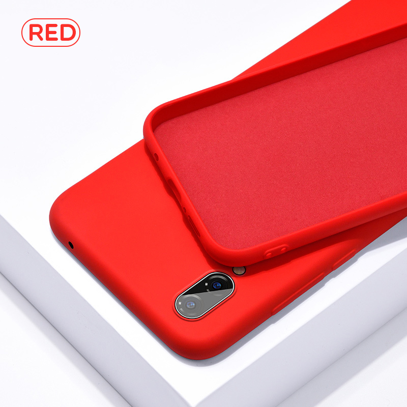 Image 2 - Soft Liquid Silicone Case For Samsung Galaxy A10 A20 A30 A40 A50 A70 M10 M20 M30 J4 J6 J8 A6 2018 Note8 9 S8 S9 S10 Plus S10e-in Fitted Cases from Cellphones & Telecommunications