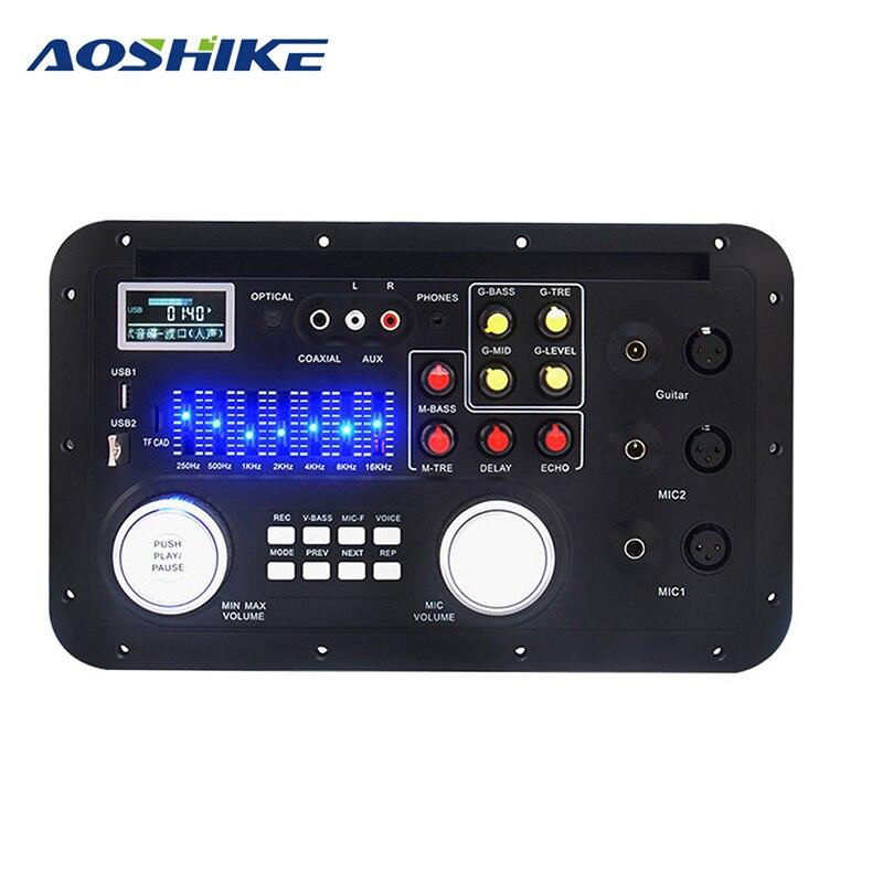 AOSHIKE Bluetooth carte de charge MP3 décodeur carte Module FM AUX équipement Audio multifonction pour amplificateur de voiture