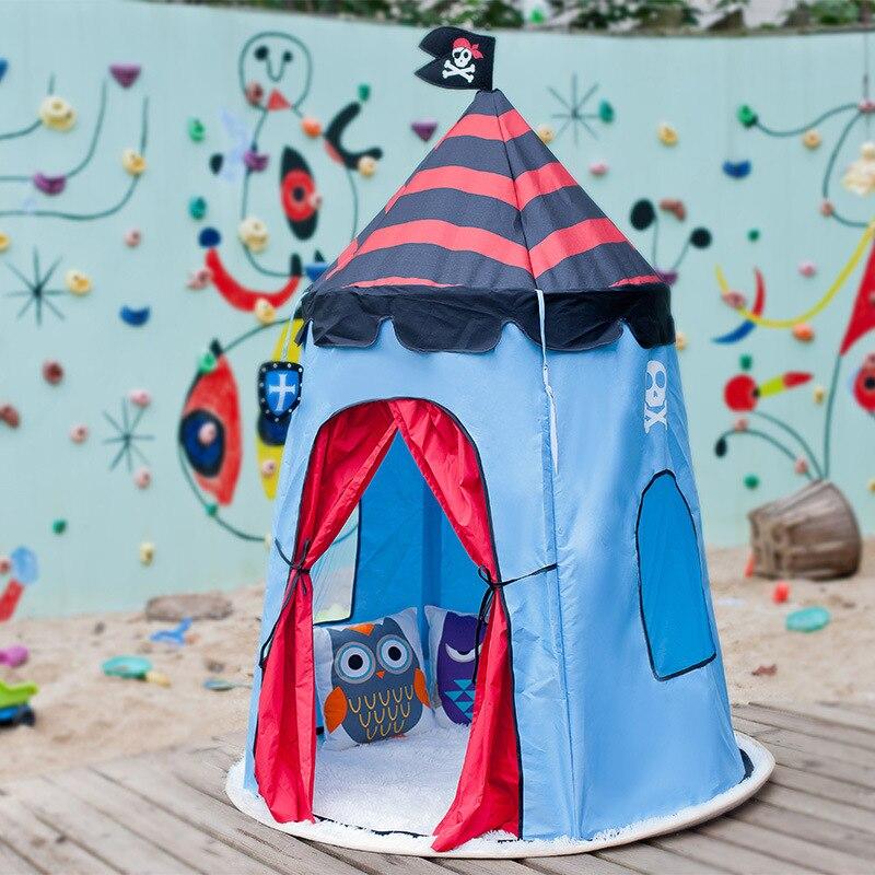 Новая юрта Крытый детский тент Пират капитан игровой дом Детская игрушечная палатка фабрика Teepee Playhouse для детей Детская Пляжная палатка