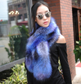 Autumn and winter men and women's faux fox raccoon rabbit fur scarf  faux fur cape collar winter long thicken scarf 120cm