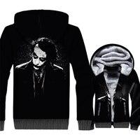 Joker WHY SO SERIOUS 3D Pattern Sweatshirt Autumn Winter Jacket 2018 Hot Sale Hip Hop Men's Hoodies Swag Batman Tracksuit Hoddie