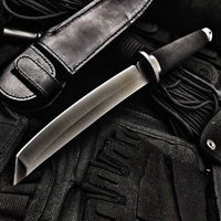 High Hardness Fixed Blade Tactical Knife Outdoor Tanto Hunting Knifes Survival Gear Straight Knives Combat Katana Camping Tools