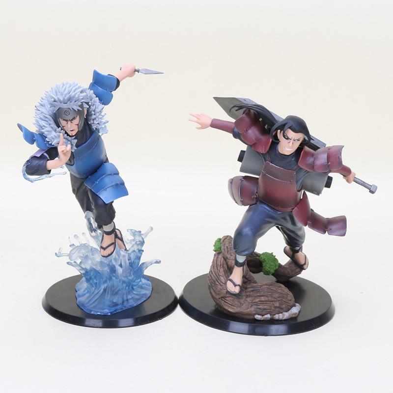 Anime Naruto Shippuden HOKAGE brothers Hashirama PVC Action Figure Figurine Toy