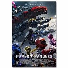 1746A Power Rangers New Movie Wall Sticker Silk Poster Light Canvas  Decoration Part 98