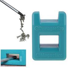 2 в 1 плюс минус намагничиватель размагничивающий магнитный инструмент для отвертки наконечники отвертка аксессуары для размагничивания
