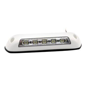 Luz LED blanca de 12V para toldo de caravana, luz para porche, IP67, impermeable, para remolque, caravana, Exterior, piezas de RV de goma 1