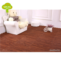 Eight Day Wood Grain Mats EVA Foam Mats Home Flooring Tiles Wood Interlock Floor Tile Living