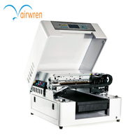 China supplier a3 uv printer print on wooden ,phone case with water cooling system