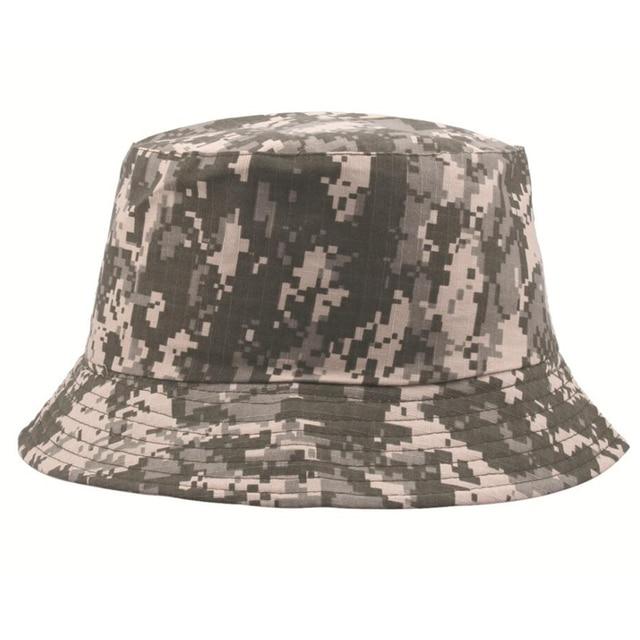Camouflage chapeau hommes plein air Sport seau chapeaux tactique Boonie chapeau Protection solaire randonnée pêche chapeau Safari casquette