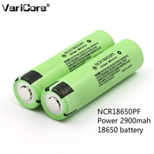 6 pcs. Original 18650 3.7 2900 mAh Lithium Battery for Battery Electronic Cigarette NCR18650PF 10a