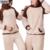 Bxman marca dos homens novos Pijamas Hombre Casual dos desenhos animados Pijamas poliéster com capuz Collar completo manga pijama de flanela para casais 72