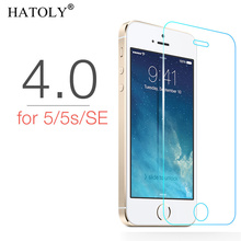 2PCS Tempered Glass For iphone 5 5S 5C 5G Ultra-thin Screen Protector for iphone 5 5S 5C 5G HD Toughened Film + Cleaning Kit стоимость