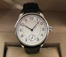 44mm geervo Asian 6498 17 jewels Mechanical Hand Wind movement mens watch Mechanical watches classic watch gr246 g8