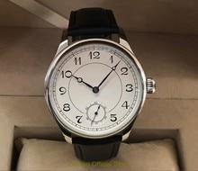 44mm geervo asiático 6498 17 jóias mão mecânica movimento vento relógio masculino relógios mecânicos clássico relógio gr246 g8