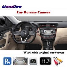 Liandlee Auto Reverse Rear Camera For Nissan X-Trail  Rogue 2013~2018 / HD CCD Back Parking Camera Work with Car Factory Screen factory promotion special car rear view reverse camera backup rearview parking for nissan qashqai for nissan x trail x trail