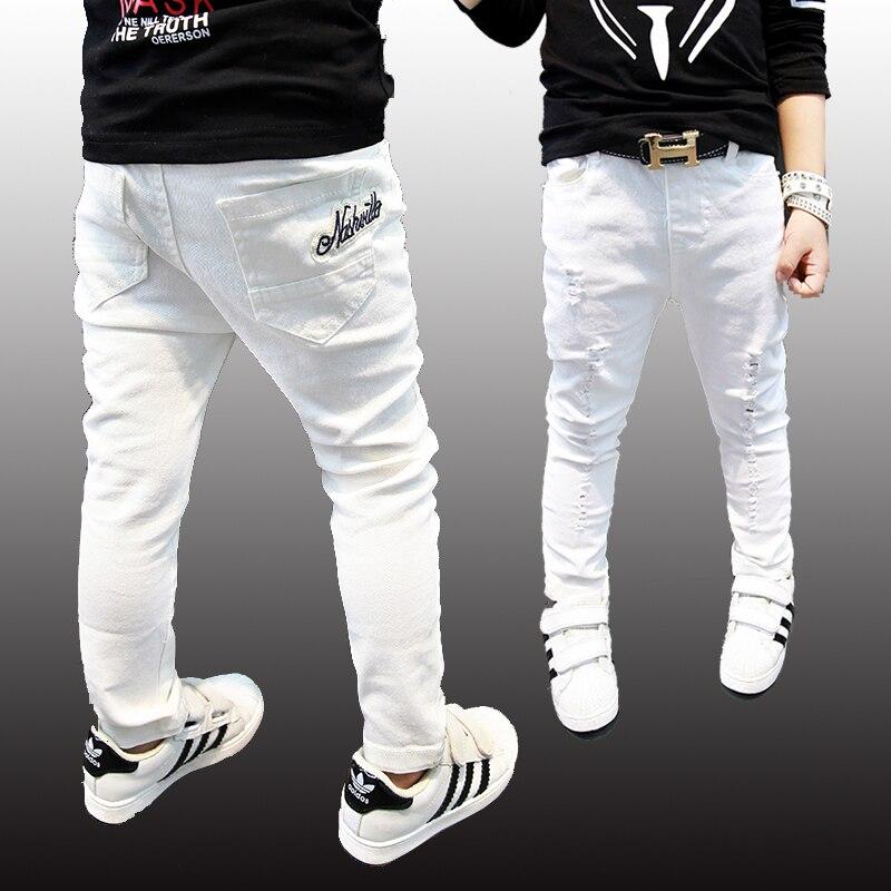 cd7c2a960e365 BIG SALE] Fashion boys jeans, fashion children pants high quality ...