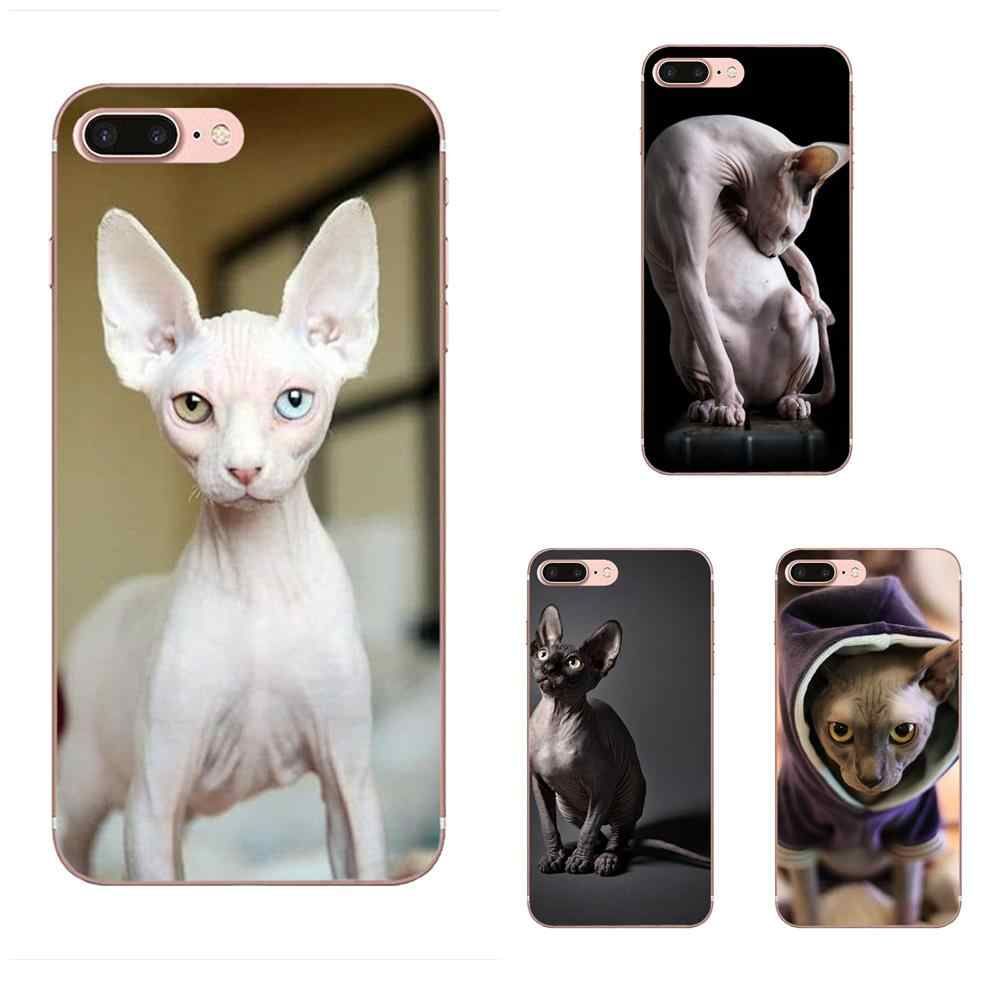 Sphynx Chat Doux Coque Cas Capa Pour Huawei Honor 4C 5A 5C 5X6 6A 6X7 7A 7C 7X8 8C 8 S 9 10 10i 20 20i Lite Pro