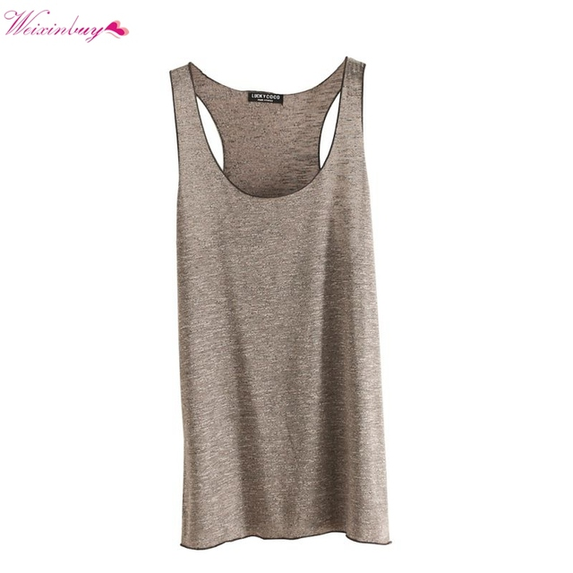 e2a6c3f916a Fitness Tank Top New T Shirt Loose Model Women T shirt Cotton O neck ...