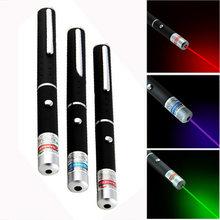 Лазерный указатель красный синий зеленый 5 мВт мощный для охоты