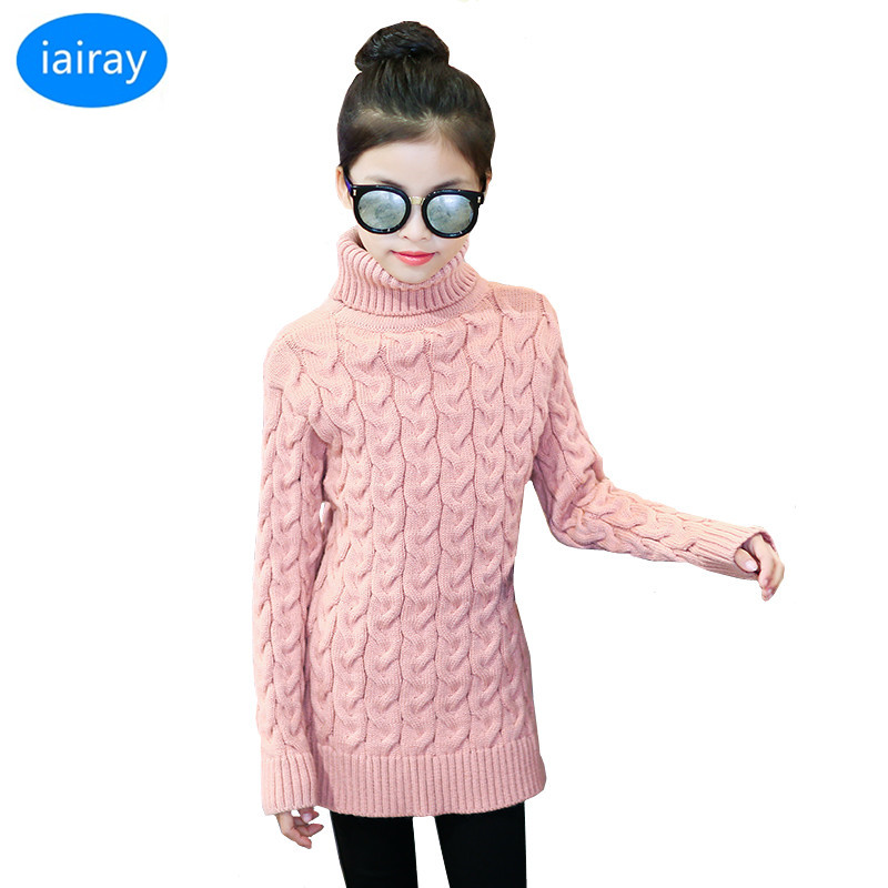 kids knitted turtleneck sweaters for girls pink long cardigan girl pullover jumper thick warm winter sweater autumn clothes ryeon winter autumn sweater dresses big size women turtleneck long sleeve loose casual grey sexy pullover knitted sweater jumper