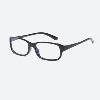 483386f722 Las mujeres los hombres Anti-Luz Azul la protección contra la radiación  TR90 marco gafas de computadora espejo plano retro ultraligero anteojos  ópticos 1213