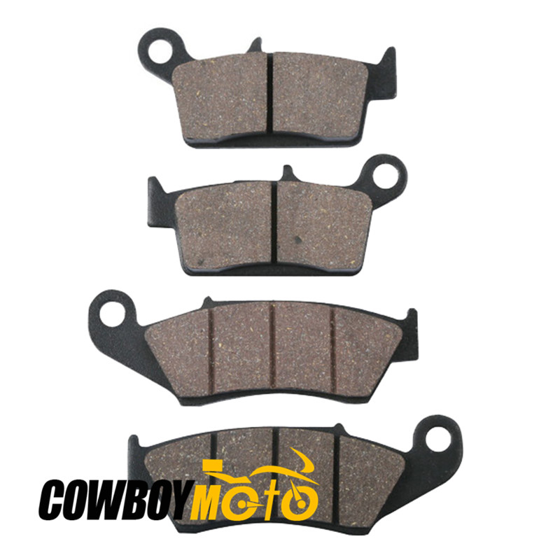 Motorcycle Semi-metal Sintered Front Rear Brake Pads For SUZUKI RM 125 250 RM125 RM250 DR-Z 400 DRZ400 DR 650 DR650 motorcycle rear brake pads fit for malaguti madisont 125 250 f18 spidermax rs scarabeo300 password250 r125 phantommax