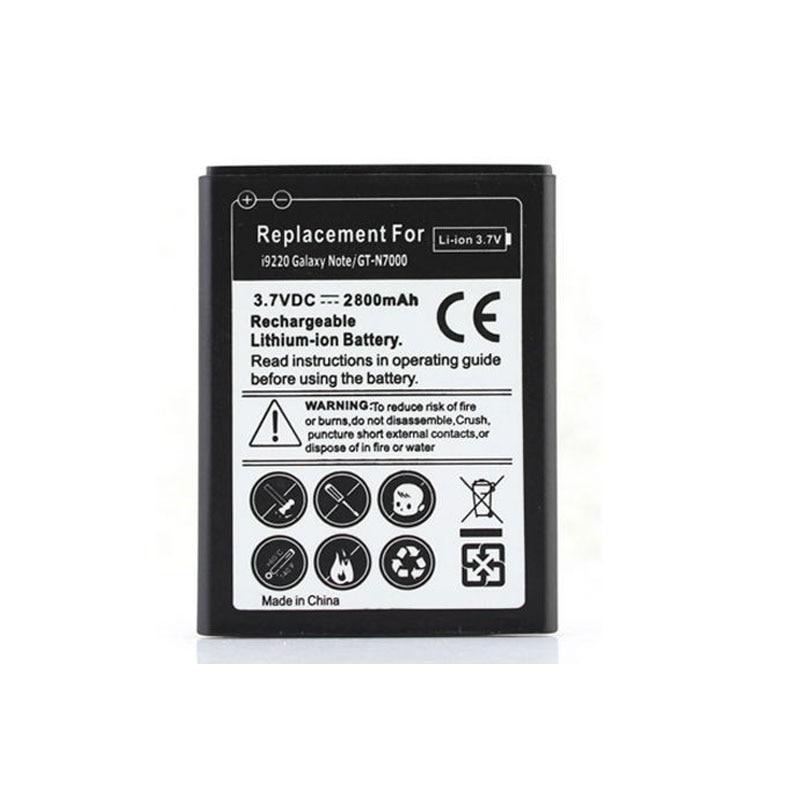 2800mah <font><b>battery</b></font> For <font><b>Samsung</b></font> Galaxy Note i9220 <font><b>Phone</b></font> Replacement <font><b>Battery</b></font> For <font><b>Cell</b></font> <font><b>Phone</b></font> GT-N7000 N7000 Rechargeable Bateria