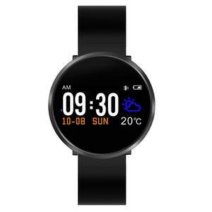 LinTimes мужские часы 0,96 дюймов сенсорный экран Смарт-браслет пульсометр монитор кровяного давления сна активности трекер здоровья