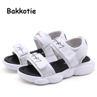 cfbbfde8e Bakkotie New 2019 Summer Boys Black Mesh Breathable Sandals Toddlers Kids  Fashion Soft Non Slip Casual. Bakkotie Novo 2019 Meninos do Verão ...