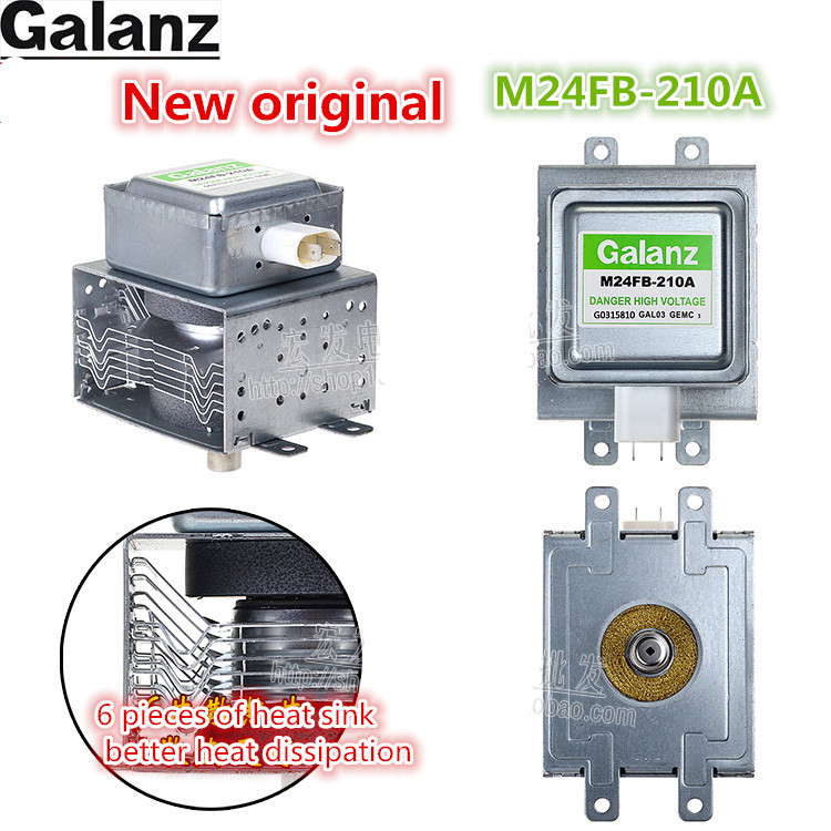 new Original M24FB-210A for Galanz Magnetron Microwave Oven Parts,Microwave Oven Magnetron General 2M210-M1 Toshiba 253K